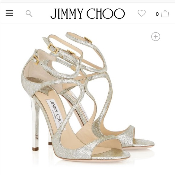 7b09eda5444a SOLD! New Jimmy Choo Lance Champagne Heels Size 36